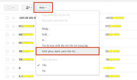 Kết quả hình ảnh cho Nhập danh bạ từ Gmail vào Android