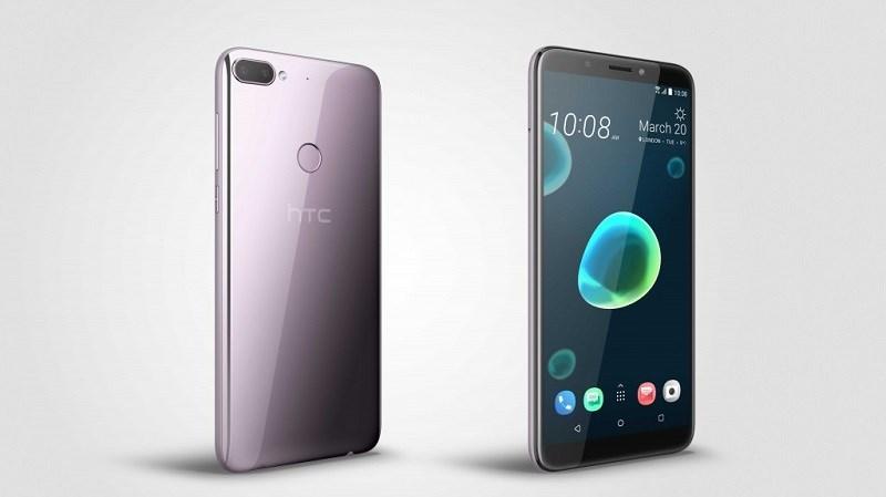 HTC Desire 12 và Desire 12+ ra mắt với màn hình 18:9