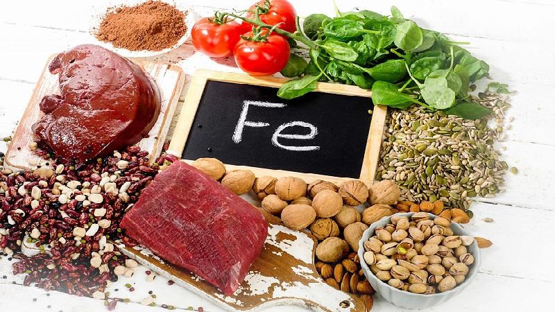 Luôn bổ sung chất dinh dưỡng trong thời kỳ kinh nguyệt hoặc mang thai, cho con bú, đặc biệt là sắt