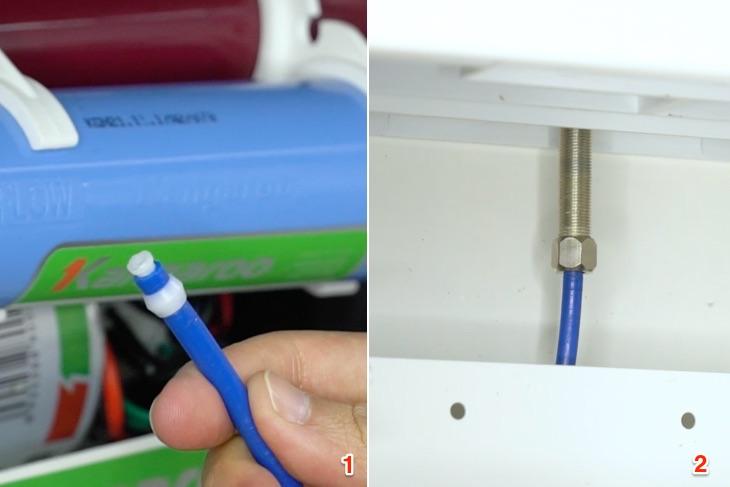 Hướng dẫn lắp đặt máy lọc nước khi mới mua