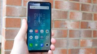 Trên tay, đánh giá nhanh Vivo V9: Con lai giữa iPhone X và Galaxy S9
