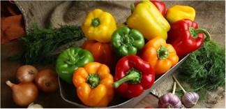 Ớt chuông và những lợi ích đối với sức khỏe