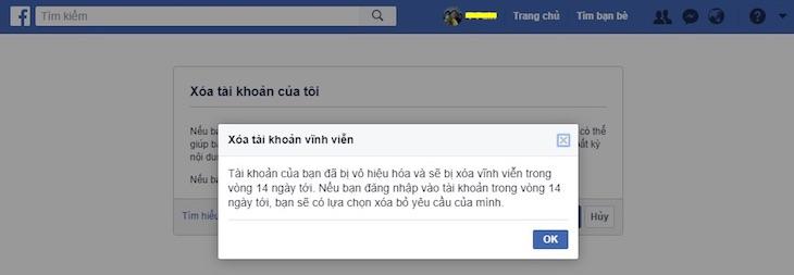 Cách hủy tài khoản Facebook đơn giản và nhanh nhất
