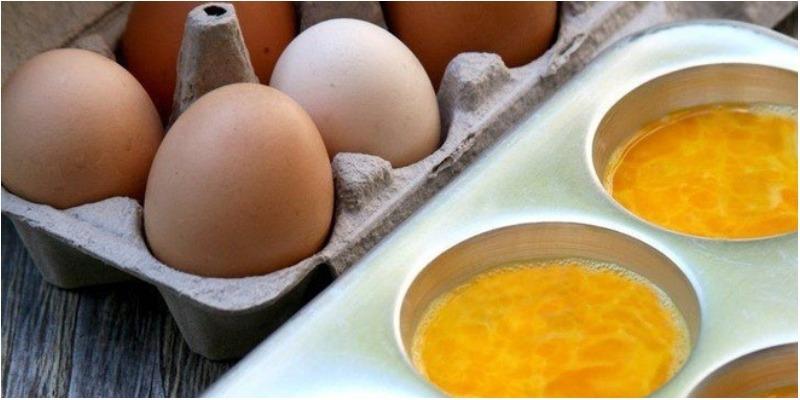 Trữ và rã đông lòng đỏ trứng