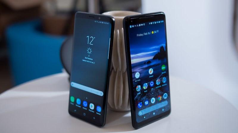 Pixel 2 XL vs Galaxy S9+