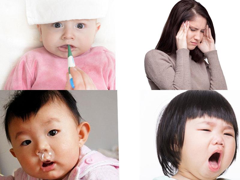 Triệu chứng viêm đường hô hấp trên