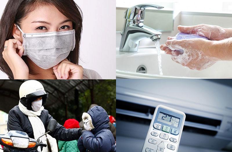Phòng ngừa viêm đường hô hấp trên