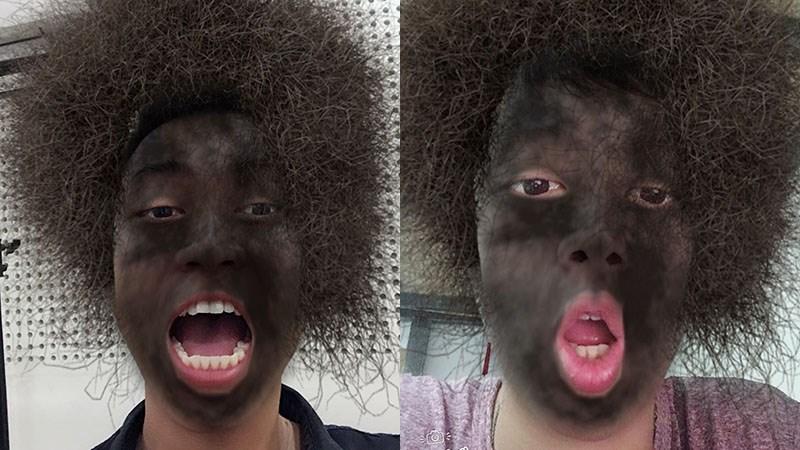Cách tải ứng dụng camera biến mặt bạn thành Đen sì Đang gây sốt