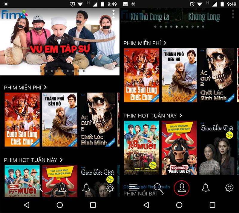Cú pháp đăng ký gói FIMB30 xem phim miễn phí của MobiFone