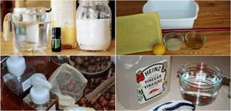 4 cách tự chế nước lau bếp dùng cả năm không hết