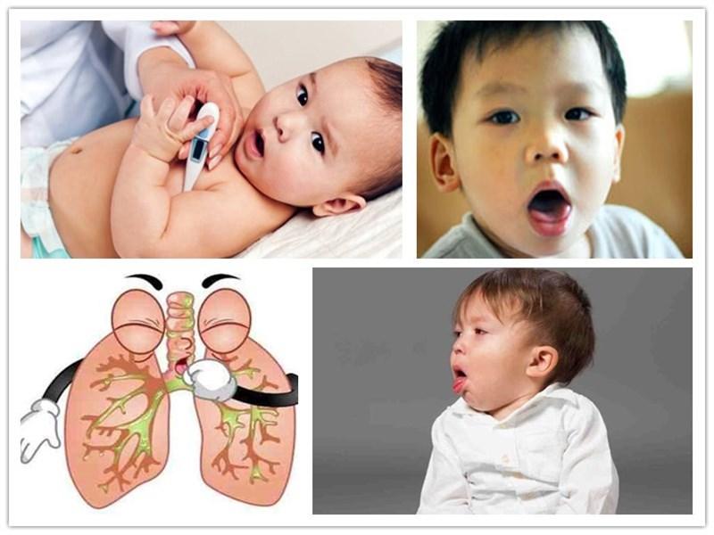 Triệu chứng ho ở trẻ em