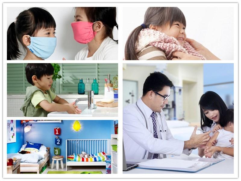 Phòng ngừa ho ở trẻ em