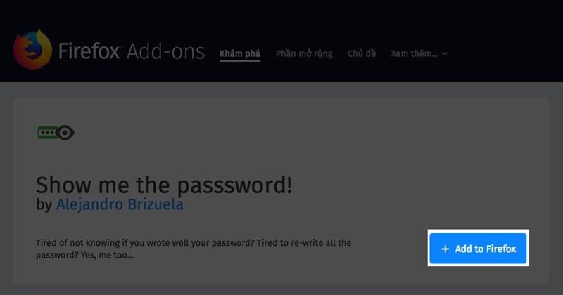 Hướng dẫn xem lại mật khẩu đã lưu trên trình duyệt WEB