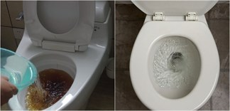 Vài giọt nước rửa chén cũng có thể thông bồn cầu siêu nhanh