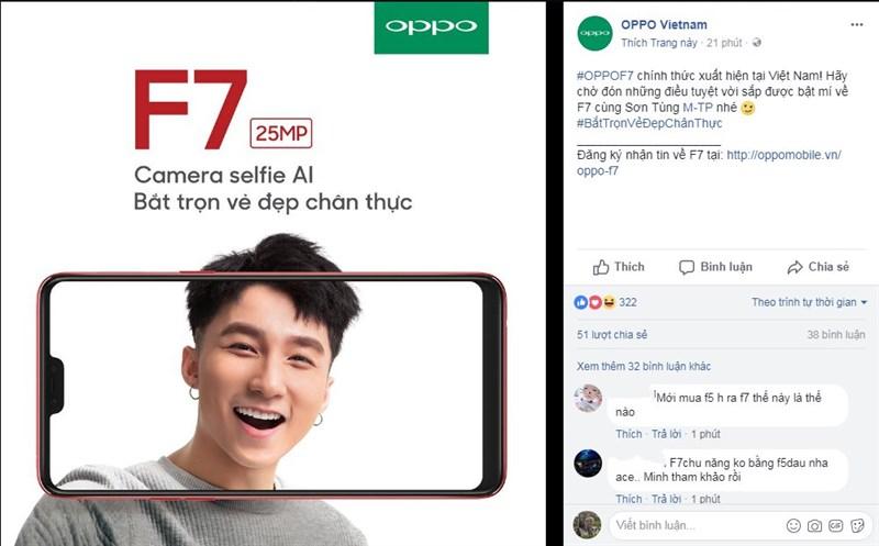Sơn Tùng M-TP tiếp tục là đại sứ thương hiệu cho dòng OPPO F series