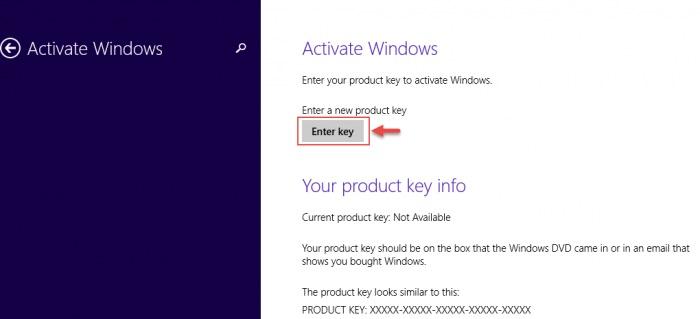 Nhấn chọn Active Windows