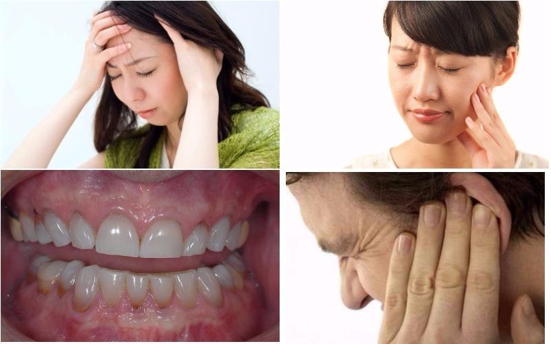 Hậu quả của việc nghiến răng