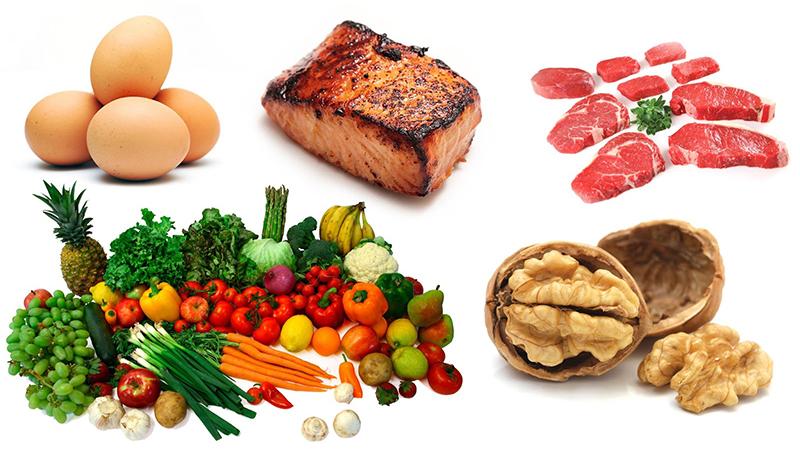 Chế độ dinh dưỡng hợp lý: ít đường mỡ, tăng cường trái cây, rau xanh