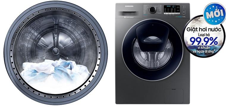 Công nghệ giặt hơi nước STEAM trên máy giặt Samsung