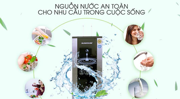 Nhiều gia đình tìm đến máy lọc nước để bảo vệ sức khỏe
