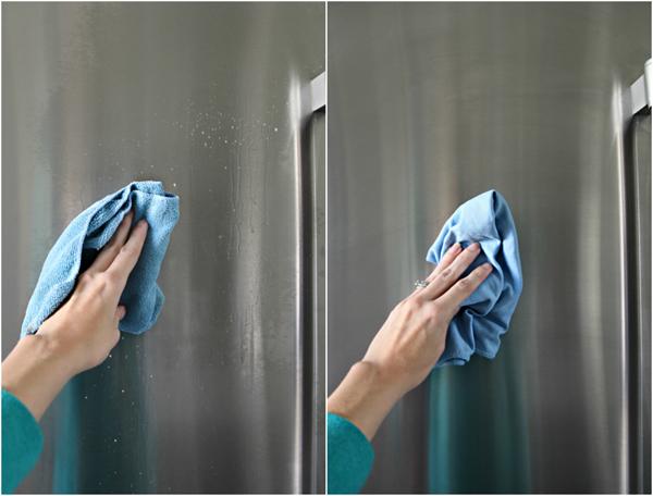 Tủ lạnh mặt gương dễ lau chùi