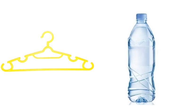 """Móc áo cũ và chai nhựạ sau khi sử dụng còn rất nhiều công dụng """"hay ho"""" để các bà nội trợ tái sử dụng"""