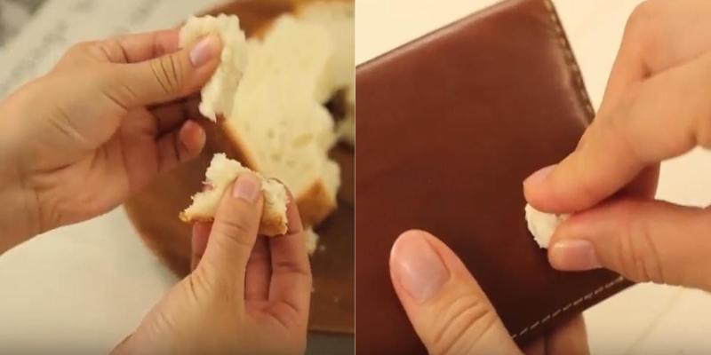Bánh mì giúp đánh bay vết bám bẩn