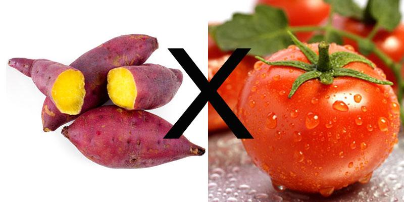 Những thực phẩm không nên kết hợp với cà chua