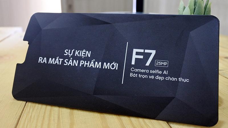 thiệp mời oppo f7