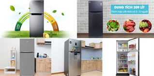 Top 10 tủ lạnh Inverter bán chạy nhất quý I - 2018 tại Điện máy XANH