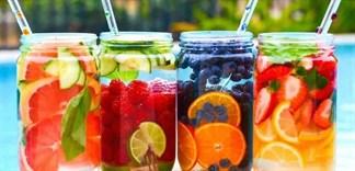 Tự làm trà trái cây thanh mát, giải nhiệt ngày hè