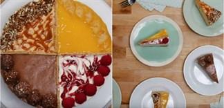 Cách làm bánh phô mai 4 vị mới lạ
