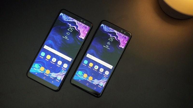 Samsung Galaxy A6 Plus (2018) sẽ trang bị màn hình vô cực
