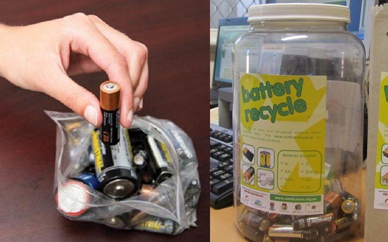 Hiểm họa từ thói quen vứt pin đã sử dụng vào thùng rác và cách xử lý chúng an toàn