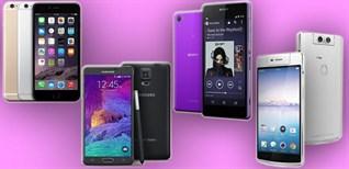 Top 5 smart phone bán chạy nhất quý I - 2018 tại Điện máy XANH