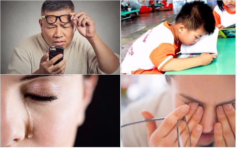 Triệu chứng của cận thị