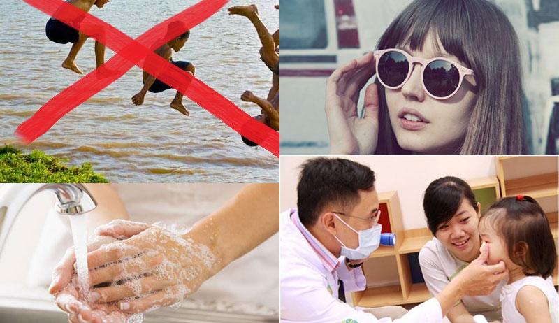 Phòng ngừa bệnh đau mắt hột