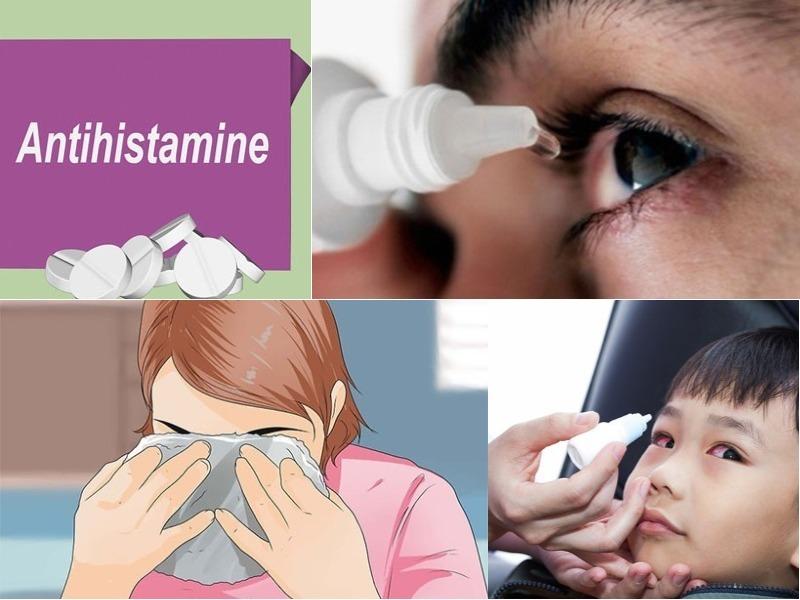 Điều trị viêm mắt dị ứng