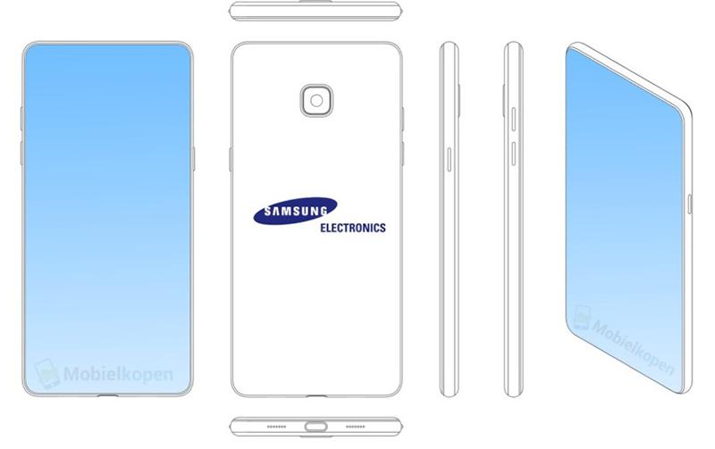 Samsung giành được bằng sáng chế với thiết kế smartphone có tai thỏ - ảnh 2