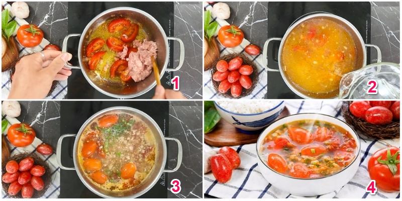Cách thực hiện món canh chua quả nhót