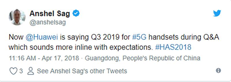 Huawei sẽ ra mắt chiếc điện thoại 5G đầu tiên vào vào quý 3 năm 2019 - ảnh 3