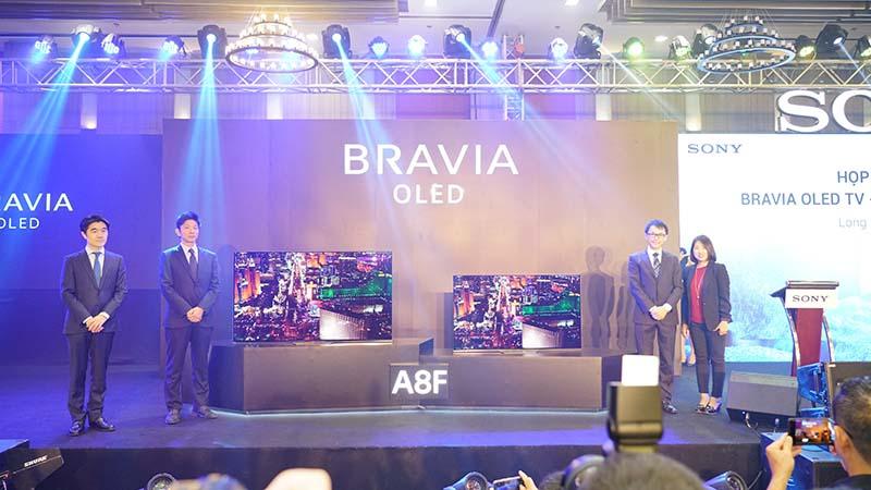 Sony công bố A8F và X9000F tại VN: Thế hệ TV BRAVIA OLED & 4K HDR mới - ảnh 2