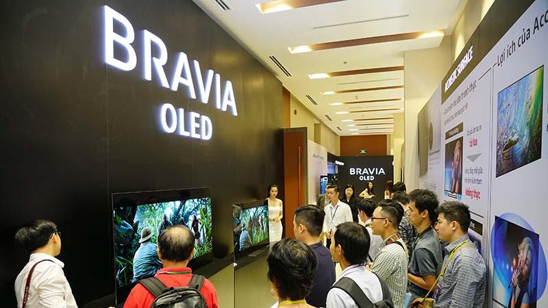Sony công bố A8F và X9000F tại VN: Thế hệ TV BRAVIA OLED & 4K HDR mới - ảnh 8