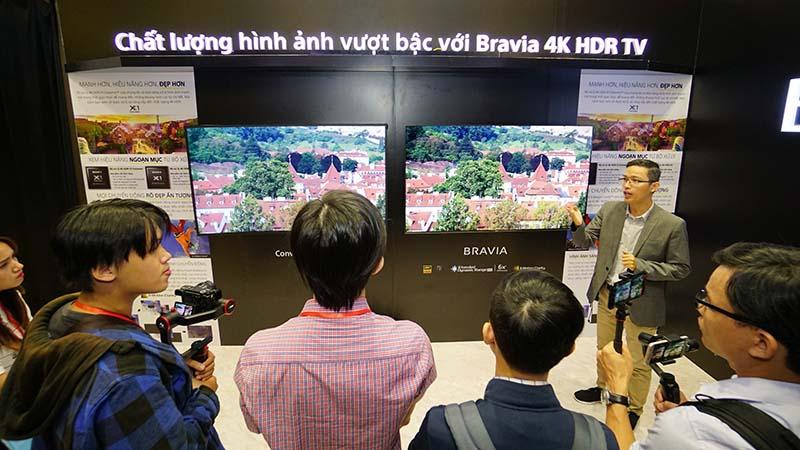 Sony công bố A8F và X9000F tại VN: Thế hệ TV BRAVIA OLED & 4K HDR mới - ảnh 7