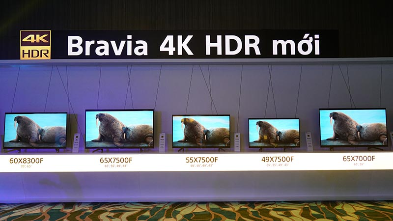Sony công bố A8F và X9000F tại VN: Thế hệ TV BRAVIA OLED & 4K HDR mới - ảnh 4