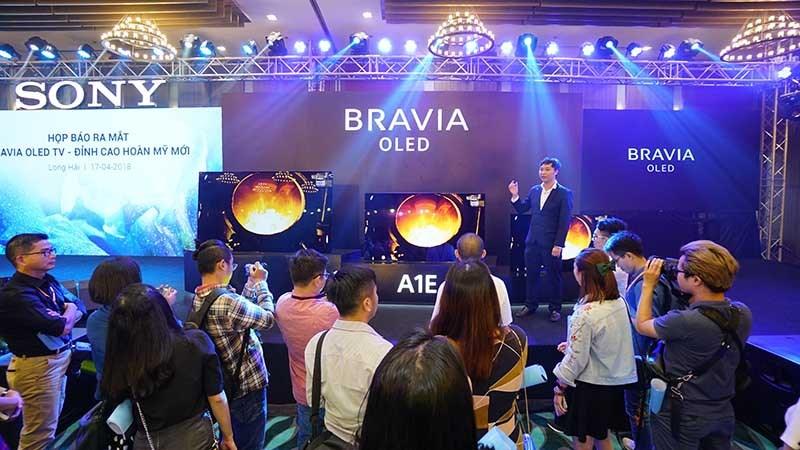Sony công bố A8F và X9000F tại VN: Thế hệ TV BRAVIA OLED & 4K HDR mới - ảnh 5