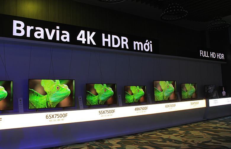Dòng tivi Android của Sony mới ra mắt