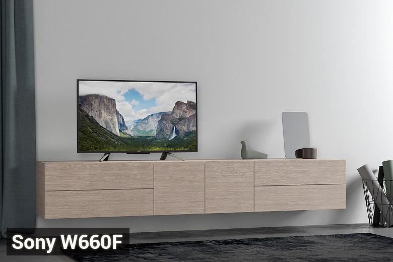 Tivi Sony W660F 2018