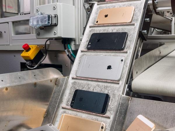 Apple ra mắt robot tái chế iPhone, có thể tháo gỡ 200 chiếc mỗi giờ