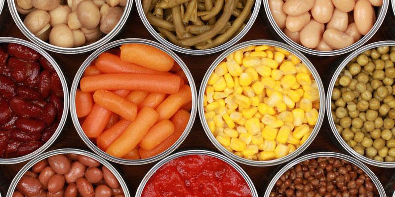 Bảo quản thực phẩm đóng hộp